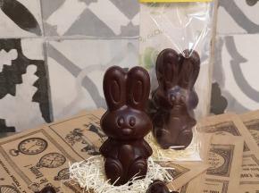 Le Petit Atelier - Lapin En Chocolat Noir Bio
