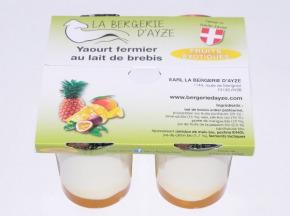 La Bergerie d'Ayze - Yaourts de Brebis Fermiers aux Fruits Exotiques