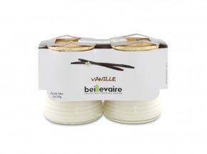 BEILLEVAIRE - Yaourts à la vanille x2