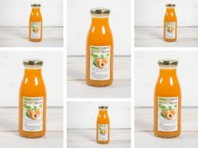 La Ferme de l'Ayguemarse - Nectar d'abricot Polonais x6