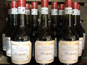 Château des Plassons - 1 Pineau Des Charentes Rastignac Jeune Rouge