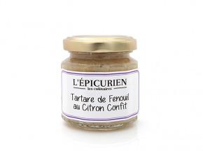 L'Epicurien - TARTARE DE FENOUIL AU CITRON CONFIT
