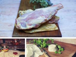 Ferme du caroire - Offre Pâques : Gigot et Filet de Chevreau 1,7 kg + pâté et crottin de chèvre offerts