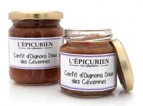 L'Epicurien - CONFIT D'OIGNONS DOUX DES CEVENNES