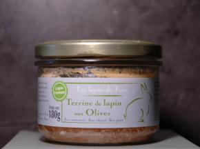 Le Palais Gourmet - Terrine De Lapin Aux Olives Vertes