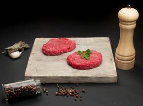 Nature et Régions - Steaks à Burger de Boeuf Charolais Bio - 4x130g