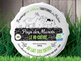Fromagerie du Pays des Murets - Le Mi-Chèvre au lait cru