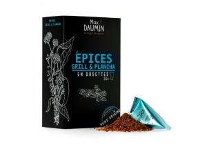 Epices Max Daumin - Epices Grill & Plancha - Boite De Dix Dosettes