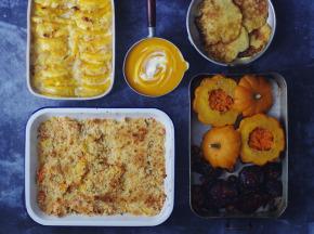 Multiproductions - Cédric Joliveau - Panier Batch Cooking Végétarien Orange - 5 Plats pour 1 Personne