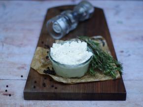 Ferme du caroire - Fromage Blanc Frais Pur Chèvre Entier 200 g