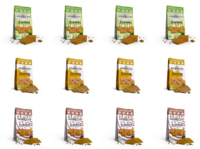 Crackers Résurrection - Lot de 12 sachets de crackers (châtaigne, sarrasin, petit épeautre)