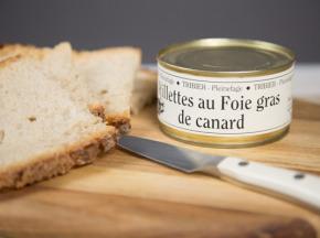 Ferme de Pleinefage - Rillettes Au Foie De Canard 190g