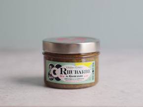OORAIN La Marmelade Française - Rhubarbe Au Gomasio - Légume Confit