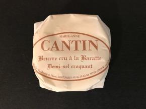 La Fromagerie Marie-Anne Cantin - Beurre Cru À La Baratte Demi-sel Croquant