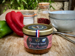 Ferme Les Barres - Emincé De Boeuf À La Provençale 350g