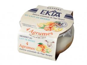 BASTIDARRA - Douceur De Brebis - 4 Agrumes - 8 Pots