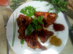 Ferme du caroire - Côtelettes de Viande de Chèvre marinées x4