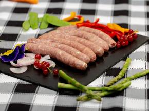 La ferme Grandvillain - Saucisses De Poulet Bleu Et Noix 12 X 60 G