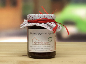 Les Perles Rouges - Chutney Figues Oignons