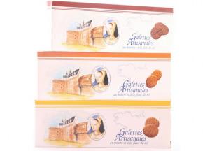 Maison Castelanne Chocolat - Biscuit Galette Caramel Fleur De Sel