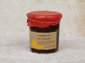 Valentin Grain - Fruits et légumes Conversion Bio - Confiture De Fraises - 180g