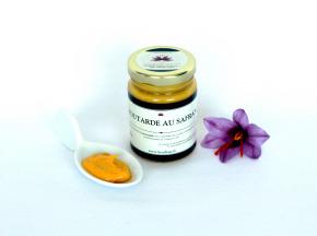 Le safran - l'or rouge des Ardennes - Moutarde Au Safran