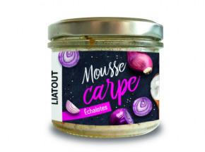 Mapoissonnière - Mousse De Carpe Échalote - Pot De 90 G