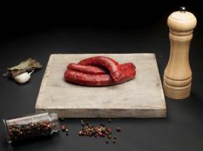 Nature et Régions - Saucisses de Bœuf Charolais Piment d'Espelette 1kg