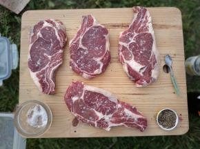 Du bio dans l'assiette - [Précommande] Entrecote de Boeuf Highland Bio
