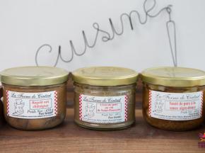 La Ferme de Cintrat - 3 plats cuisinés : Sauté à l'aigre douce, ragoût, civet de porc