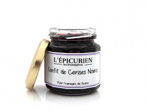 L'Epicurien - CONFIT DE CERISES NOIRES - tommes de brebis