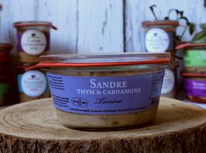 La Bourriche aux Appétits - Terrine de Sandre Thym et Cardamome