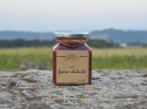 Un brun gourmand - Confiture De Fraise Et Rhubarbe