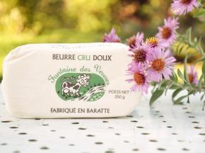 Laiterie de Pamplie - Beurre Cru Doux Fontaine Des Veuves - Moulé De 250 G