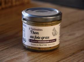 Ô'Poisson - Thon Au Foie Gras - Pot De 100g
