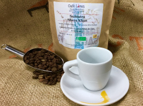 Café Loren - Café De Sumatra Shere Khan Bio : Mouture Espresso