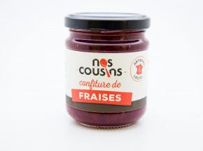 Nos cousins Conserverie - Confiture De Fraise 240g