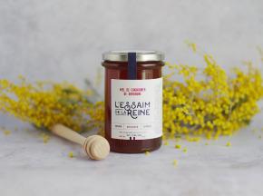 L'Essaim de la Reine - Miel de chataignier de Dordogne - 400g - récolté en France par l'apiculteur