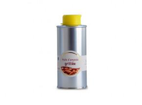 Les amandes et olives du Mont Bouquet - Huile d'amande grillée 20cl