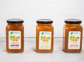 La Ferme de l'Ayguemarse - Confitures d'abricot : 3 variétés différentes