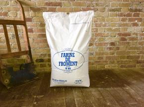 Moulins de Versailles - Farine De Froment T55 Corde Blanche - 25kg