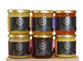 Merveille Apiculture - Assortiment de miels– 6 X 500g