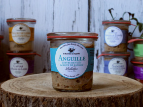 La Bourriche aux Appétits - Rillettes d'anguille de Loire Zeste de Yuzu et Baies de Sansho