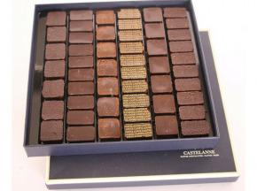Maison Castelanne Chocolat - Coffret Dégustation Crus De Cacao 51 Chocolats