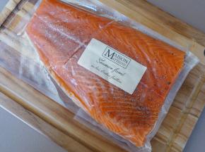 Maison Matthieu - Lot De 6 Filets De Saumon Fumé Aux Bois Des Vergers - 6kg