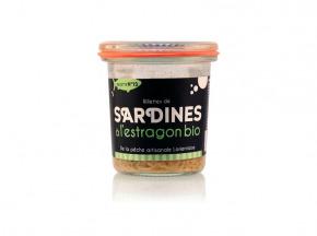 Conserverie artisanale de Keroman - Rillettes De Sardines À L'estragon Bio