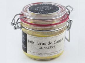 Les foies gras du Ried - Foie Gras De Canard - Conserve 180g