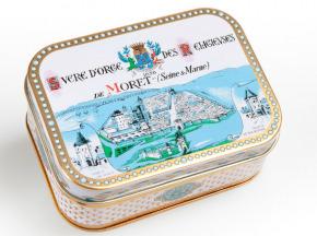 Des Lis Chocolat - Sucre D'orge De Moret, Boîte Fer Rect. 200g