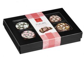 Des Lis Chocolat - Palets Aux Fleurs, 70g
