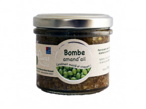 Les amandes et olives du Mont Bouquet - Bombe Amande À L'ail - Condiment